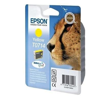 Epson Singlepack Yellow T0714 DURABrite Ultra Ink - Cartucho de ...