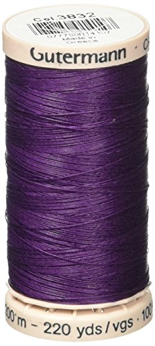 - Gutermann Quilting Thread 220 Yards-Grape