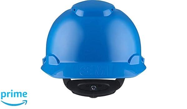 3M H700NBB - H700 Casco con ventilación, azul, arnés de ruleta: Amazon.es: Bricolaje y herramientas