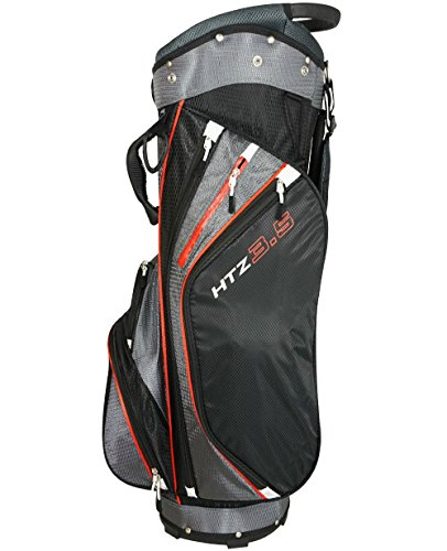 Hot-Z 2017 Golf 3.5 Cart Bag Black/Gray