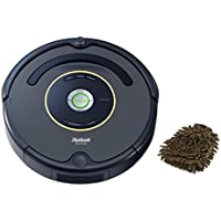 iRobot 652 Roomba Robotic Vacuum Cleaner (Complete Set) w/ Bonus: Premium Microfiber Cleaner Bundle