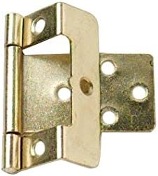 Set 4/St/ück Bulk Hardware bh04894/gekr/öpft Flush Scharnier electro-brassed 50/mm x 16/mm