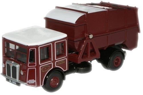 oxford-diecast-76sd001-shelvoke-drewry-dustcart-west-lothian