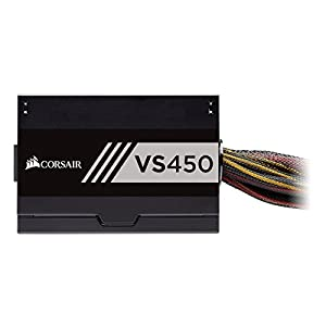 Corsair VS Series VS450 450 W Active PFC 80 Plus White Certified Power Supply (CP-9020170-NA)