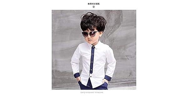 a22e7d0cdb391 Amazon.com  FidgetGear 2pcs Kids Baby Boys Formal Suit For Wedding Jackets  Concert Suit Coat+Pants Sets White Blouse 5-6 Years  Clothing