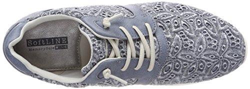 Blu Infilare Sneaker 875 1242 Donna 404 Sky Mustang IPY8x