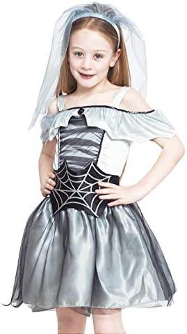 Disfraz Novia Cadáver Spiderweb para Niña Halloween (4-6 años) (+ ...