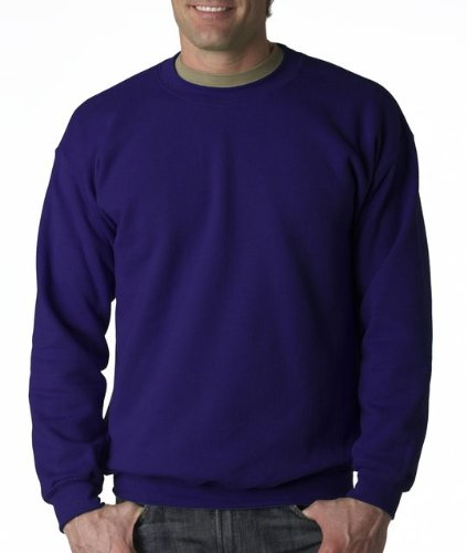 Gildan Men's Heavy Blend Crewneck Sweatshirt - XX-Large - Purple