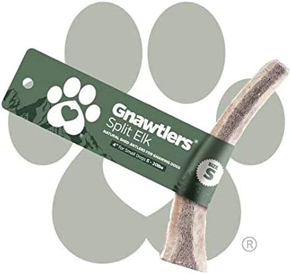 Pet Parents Gnawtlers – Premium Split Elk Antlers for Dogs, Naturally Shed Elk Antlers Split, All Natural Split Elk Antler Chews, Specially Selected from The Rocky Mountain Heartland Regions
