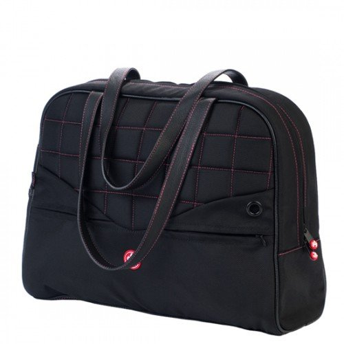 Sumo ME-SUMO99130 13-Inch Womens Laptop Purse (Black Leather/Black (Sumo Womens Laptop Purse)