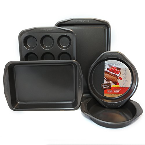Bakers Secret Signature Bakeware Sets (5-Pc Bakeware)