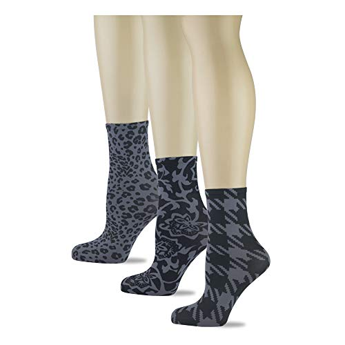 Womens Ankle Socks by Sox Trot Made in USA (Smoke - Sox Socks Trot