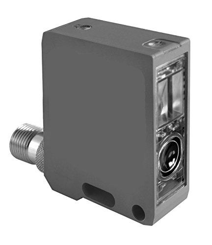 background suppression part # EK160-12100 Dynapar Corporation NAMCO EK Series 40 x 50 x 15 rectangular sensor with plastic lens PNP polarity 500mm operating distance Diffuse Photoelectric