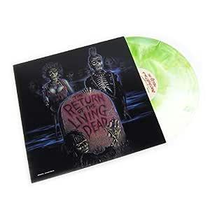 Real Gone Music: The Return Of The Living Dead Soundtrack (Bone White & Green Zombie Blood Colored Vinyl) Vinyl LP