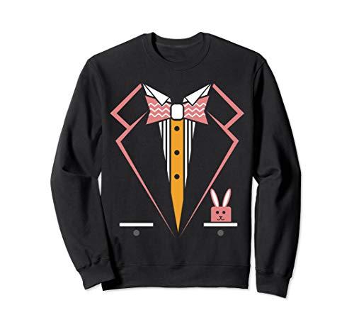 Sweatshirt Tux (Easter Sunday Tux Funny Costume Gift Tuxedo Sweatshirt)