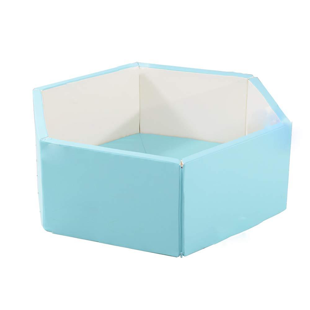 気質アップ XIAOLIN B07GGL9NGQ 子供のおもちゃの家フェンスソフトフェンス厚い床マット取り外し可能なフォールディングフェンスゲームフェンス 青) (色 : 青) (色 青 B07GGL9NGQ, 井原市:5c530559 --- a0267596.xsph.ru