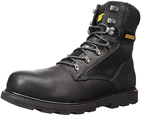77e6c7c923f Caterpillar Men's Indiana 2.0 Steel Toe Work Boots, Black, 11.5 W ...