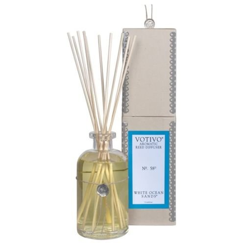 2 Pack Votivo White Ocean #58 Aromatic Reed Diffusers by Votivo