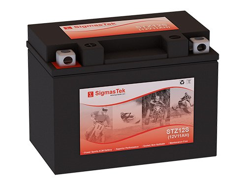12 Volt 11 Amp Hour Sealed Lead Acid Battery Replacement with NB Terminals by SigmasTek STZ12S