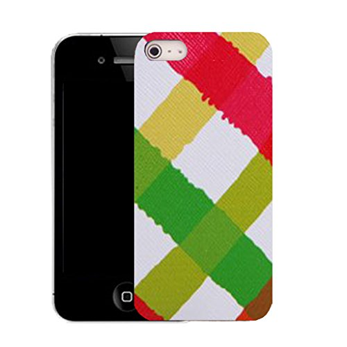 Mobile Case Mate IPhone 5 clip on Silicone Coque couverture case cover Pare-chocs + STYLET - multi cross pattern (SILICON)
