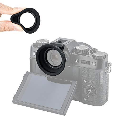 (Eyecup Eye Cup Eyepiece Rubber for Fuji Fujifilm XT30 XT20 XT10 X-T30 X-T20 X-T10 Viewfinder Installed via Hot Shoe -Black)