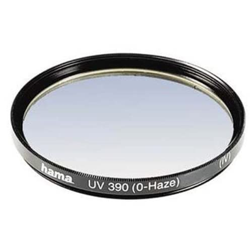 Hama UV and Protective Filter, 4 Coats, for 58 mm Camera Lenses,BLACK, 00070158