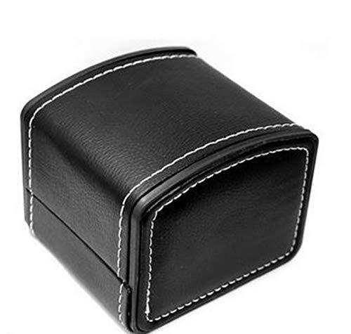 (Mikash US 1/4/5/8/Slots Pu Leather Watch Box Display Organizer Glass Jewelry Storage   Model JWRLBX - 1778  )