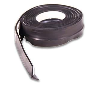 Brinox b82660n burlete de goma para puertas de garaje 5 m color negro bricolaje - Burletes de goma para puertas exteriores ...