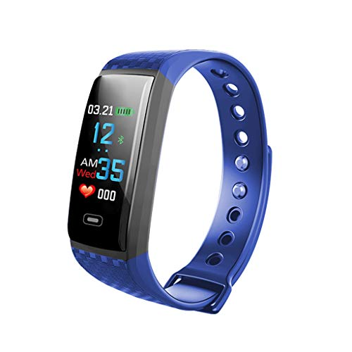 HR Activity Tracker Regular Fit, Waterproof Activity Tracker Watch with Calorie Counter Heart Rate Sleep Monitor Connected GPS Odometer Pedometer Watch for Women Men Kids for Android iOS