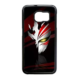 Bleach Hollow Mask caso Edge L1C98P4QG funda Samsung Galaxy S6 funda U56A3R negro
