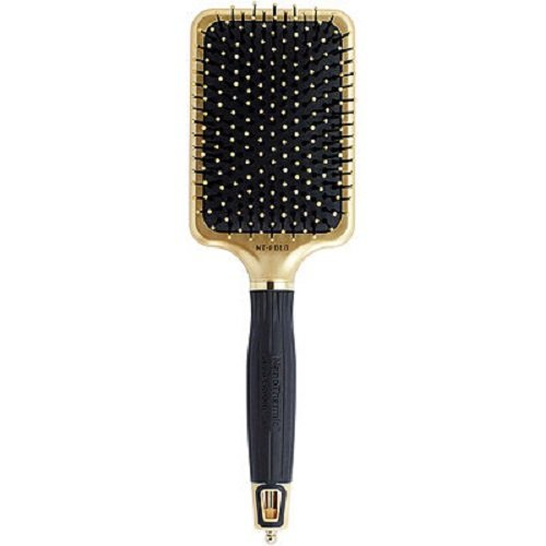 (Olivia Garden NanoThermic Ceramic + Ion Hair Brush - 50th Anniversary Special Edition NT-PDLG (Paddle))
