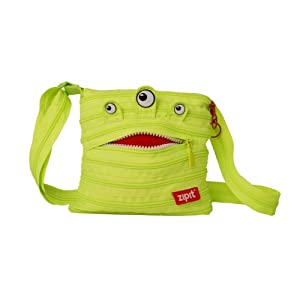 ZIPIT Monster Children Mini Shoulder Bag, Lime