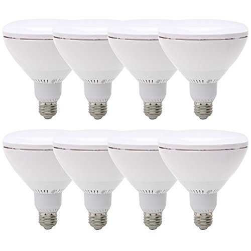 75 Watt Replacement BR40, LED Light Bulb, 8 pack, Daylight, Dimmable E26 Edison Base, 90+ CRI