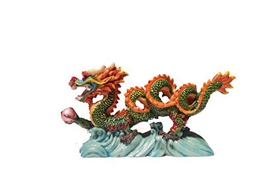 NEW Chinese Feng Shui Dragon Figurine Statue for Luck & Success #S (multi3) (Chinese Dragons)