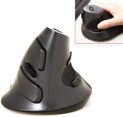 Vertical Mouse Optical Mouse Wireless Mouse USB Wireless Mouse for Computer Vertical Value-5-Star