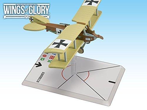 toma Wings Wings Wings of Glory WWI  Albatros CIII (Bohme Ladermacher) by Ares Juegos  nuevo listado