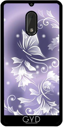 Funda de silicona para Nokia 6 - Púrpura De La Fantasía De La Mariposa by Nina Baydur