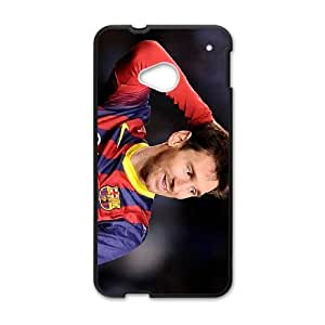 Lionel Messi HTC One M7 Cell Phone Case Black M3784483