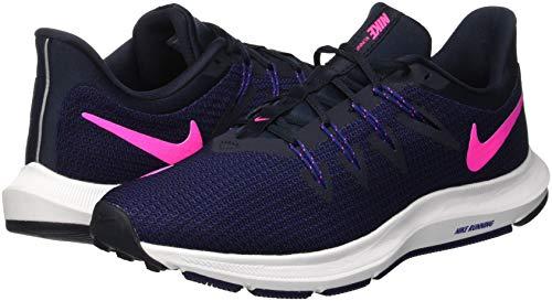 Para Zapatillas Azul Nike Mujer deep Running Obsidian 400 pink Quest Blast dark De qp5wYI5