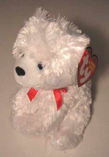 Beanie Baby Boxes (Ty Beanie Baby - ICE BOX - Polar Bear with Ribbon)