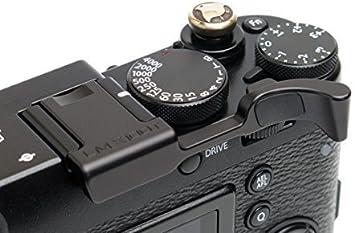 Haoge Thumbs Up de manera segura mano agarre para Fujifilm Fuji X100F X-Pro2 XPro 2 Rojo