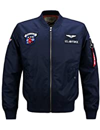 Nyngei Man's Fall Bomber Aircraft Military Classic Retro Patch Decoration Jacket