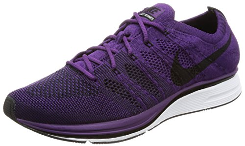 Gymnastique Mixte Adulte Flyknit de Chaussures Purpleblackwhite Night Nike Trainer Violet xaZqfFC