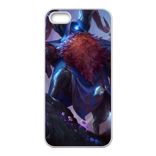 Bard 002 coque iPhone 5 5s cellulaire cas coque de téléphone cas blanche couverture de téléphone portable EOKXLLNCD26777