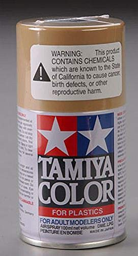 - Tamiya America, Inc Spray Lacquer TS-46 Light Sand, TAM85046