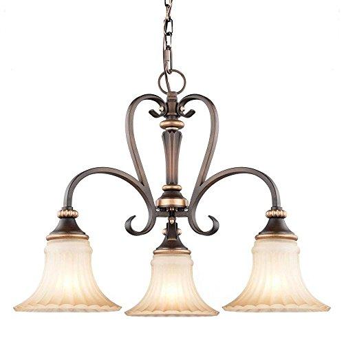 Hampton Bay 17263 Lighting - 3 Mini Chandelier Garland Light