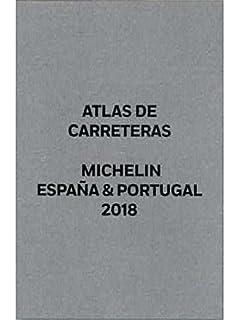 ATLAS DE CARRETERAS ESPAÑA Y PORTUGAL 2018