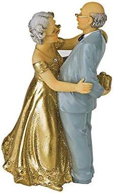 Anniversario Di Matrimonio 66 Anni.Statuine Di Coppia Di Sposi Da 50 Anni Anniversario Di Nozze D