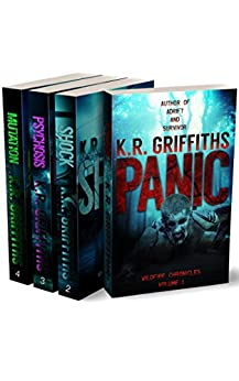 Wildfire Chronicles: Volumes 1-4 (Post-apocalyptic horror 4 book bundle) by [Griffiths, K.R.]
