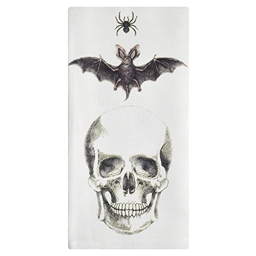 Montgomery Street Spider, Bat and Skull Cotton Napkins, Set of 4 ()
